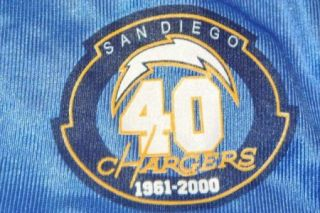Lance Alworth San Diego Chargers Adidas Jersey 40th Anniversary XL