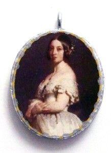 Queen Victoria Britain England Royalty Monarch Pendant