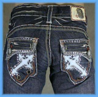 Laguna Beach Jeans Mens Emerald 2G Baby Blue Straight
