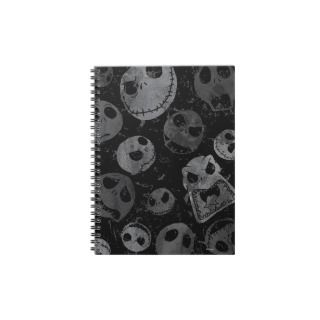 Jack Skellington Pattern 2 Spiral Notebooks