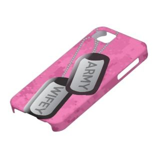 Army Wife Pink Camo iPhone Case iPhone 5 Case