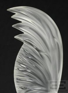 Lalique Coq NAIN Crystal Rooster Figurine
