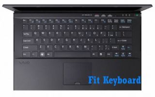 Metallic Color Keyboard Skin Cover for Sony Vaio 13 1 Z Z2 Z21 Z22