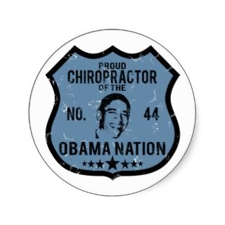 Chiropractor Obama Nation Stickers