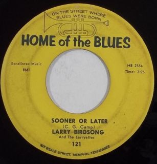 Larry Birdsong Soul R B 45 Hear Home of The Blues 121 Ill Let Nothing