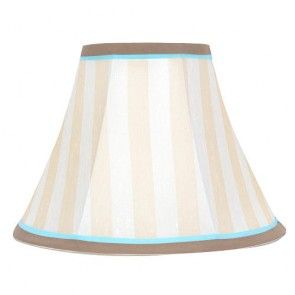 Cocalo Petit Tresor Nesting Lamp Shade Baby Boy Nursery Kids Room Tan