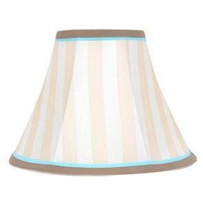 Cocalo Petit Tresor Nesting Lamp Shade Baby Boy Nursery Kids Room Tan