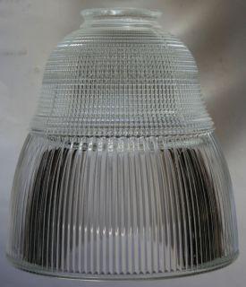 2070 Industrial Glass Lamp Shade Steampunk Retro Machine Age