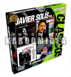 Javier Solis Recupera Tus Clasicos V 1 New 4 CD 4CDs