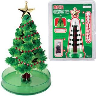 Crystal Growing Christmas Tree Science Project Stocking Stuffer