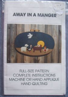 Christmas Craft Patterns * Applique * Wall Quilts * +