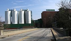Latrobe Brewing Company viewed from Ligonier Street