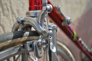 Vintage Faggin Campione Del Mondo Roadbike with Shimano Golden Arrow