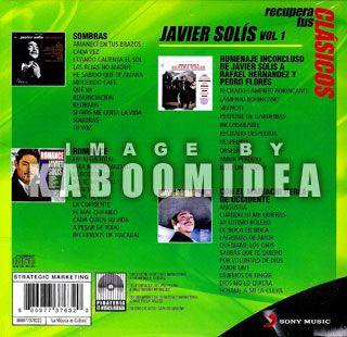 Javier Solis Recupera Tus Clasicos V 1 New 4 CD 4CDs