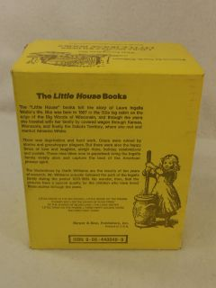 Laura Ingalls Wilder Complete Set Little House Books Box Set 1971 1st