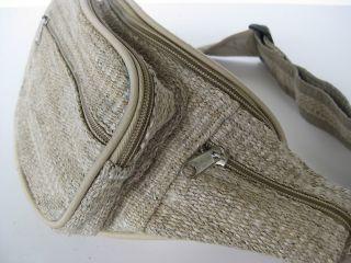 Hemp Fanny Pack Waist Bag Hand Made in Nepal