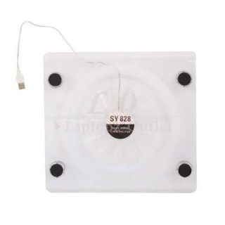 USB Laptop Cooling Fan Cooler Pad LED Light for 14 1 15 4 Notebook
