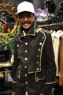 Military Mens Leather Nubuck Steampunk Uniform Jacket