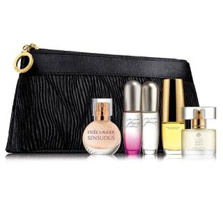 Estee Lauder Perfume Purse Spray Collection w Bag 2