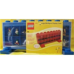 Lego Large Minifigure Display Case Blue