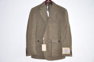 Ralph Lauren RRL Harris Tweed Heavy Wool Blazer 42 R