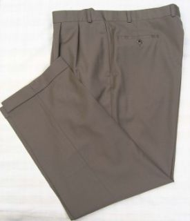 Ralph Lauren Wool Cashmere Pants Brown 40 x 30 Perfect
