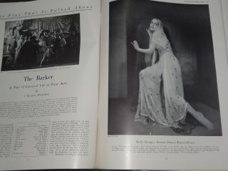 Magazine Apr 1927 Barbara Stanwyck Laura La Plante Lon Chaney