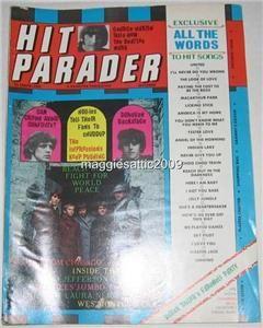 Hit Parader OCT1968 Jimi Hendrix Sunn Amplifier Ad