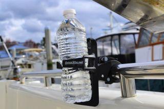 Harley Davidson Motorcycle Drink Cup Holder Beverage Water Bottle Free