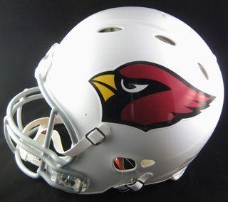 Larry Fitzgerald Signed Cardinals Revolution Pro Helmet