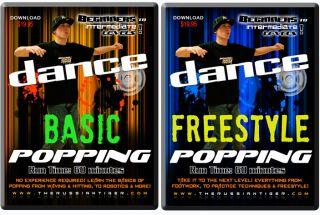 Learn Street Dance Popping DVD  60 MIN