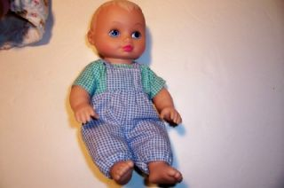 1991 Lauer Toys Inc Boy and Girl Water Baby Dolls