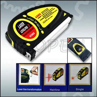 Laser Level Horizontal Vertical Line 5 5M Measure Tape