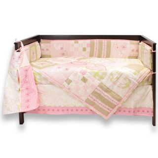 Laura Ashley Love Girls Crib Bedding Set Decor Accessories Pink White