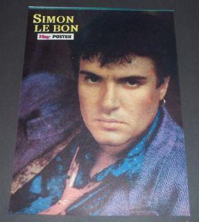 Tina Turner Mel Gibson Simon Le Bon Turkish Mag Pin Up Duran Duran