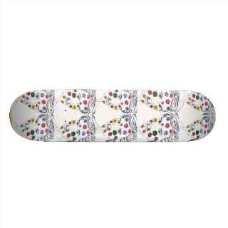 Face painting Skateboards