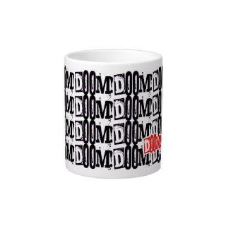 DOOM DOOM DOOM Mug Extra Large Mugs