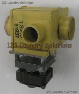 Wascomat Front Load Washer Drain Valve 115V 099877