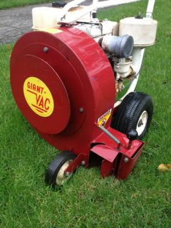 Giant Vac 8 HP Walk Behind Leaf Blower with Briggs Stratton Engine