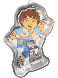New Wilton Go Diego Go Boy Birthday Party Cake Pan Mold
