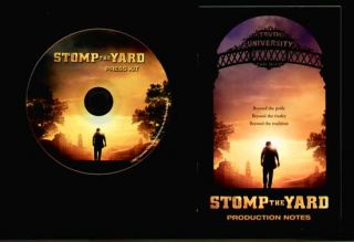 Stomp The Yard PRESSKIT on CD Meagan Good Laz Alonso