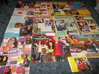 Austin Ally Ross Lynch Laura Marano Pinup clippings 45
