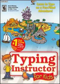 Typing Instructor for Kids PC CD Learn to Type Computer Keyboarding