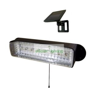 Solar Powered Wall Garage Shed Light 8 LED
