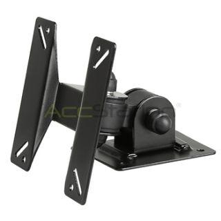 TV LCD Tilt Swivel Black Wall Mount Bracket 21 22 23 24