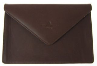 Regent Seven Seas Cruise Brown Leather Jewelry Pouch