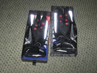 Nike Oregon Ducks Vapor Carbon Gloves Support The Troops Chip Kelly