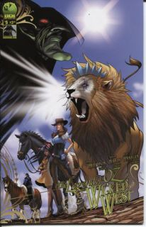 Legend of oz The Wicked West 5 Mr Big Dog Ink Comics Cover A