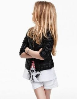 Children Baby Girl Leather Jacket Kids Fashion Jacket Girl Fashion