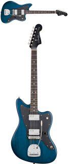 Fender Lee Ranaldo Jazzmaster Sapphire Blue Transparent Electric